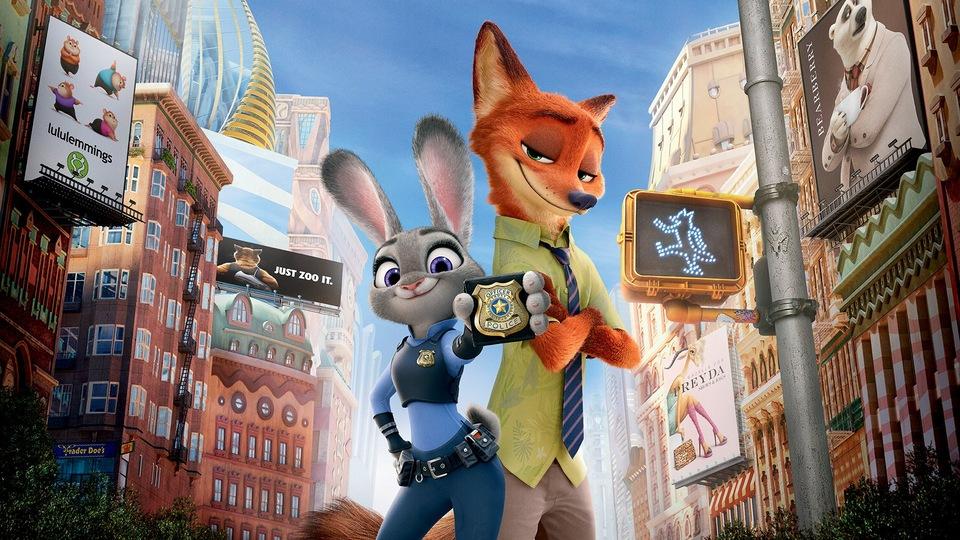 Film Zootropolis: Město zvířat