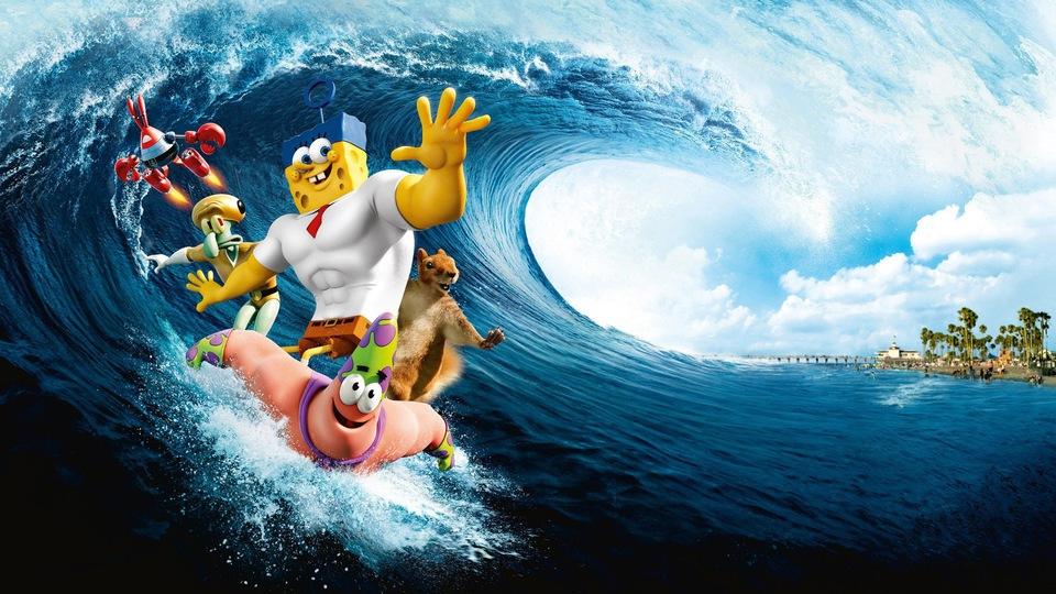 Film SpongeBob ve filmu: Houba na suchu