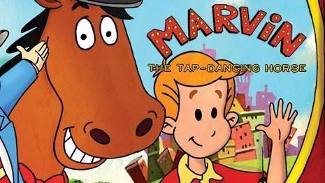 Marvin, stepujúci koník