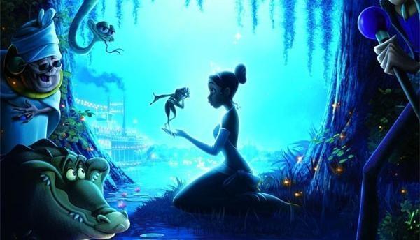 Princezná a žaba