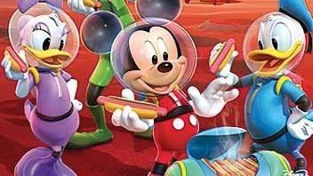 Mickeyho velký hon za klubíkem