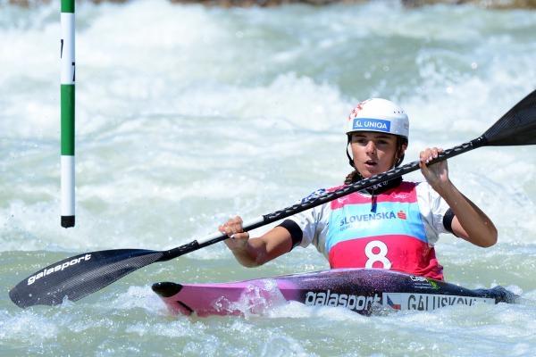 Vodní slalom: MS 2021 Slovensko