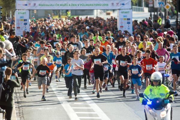 Sport v regionech: Pardubický vinařský půlmaraton, Pardubice